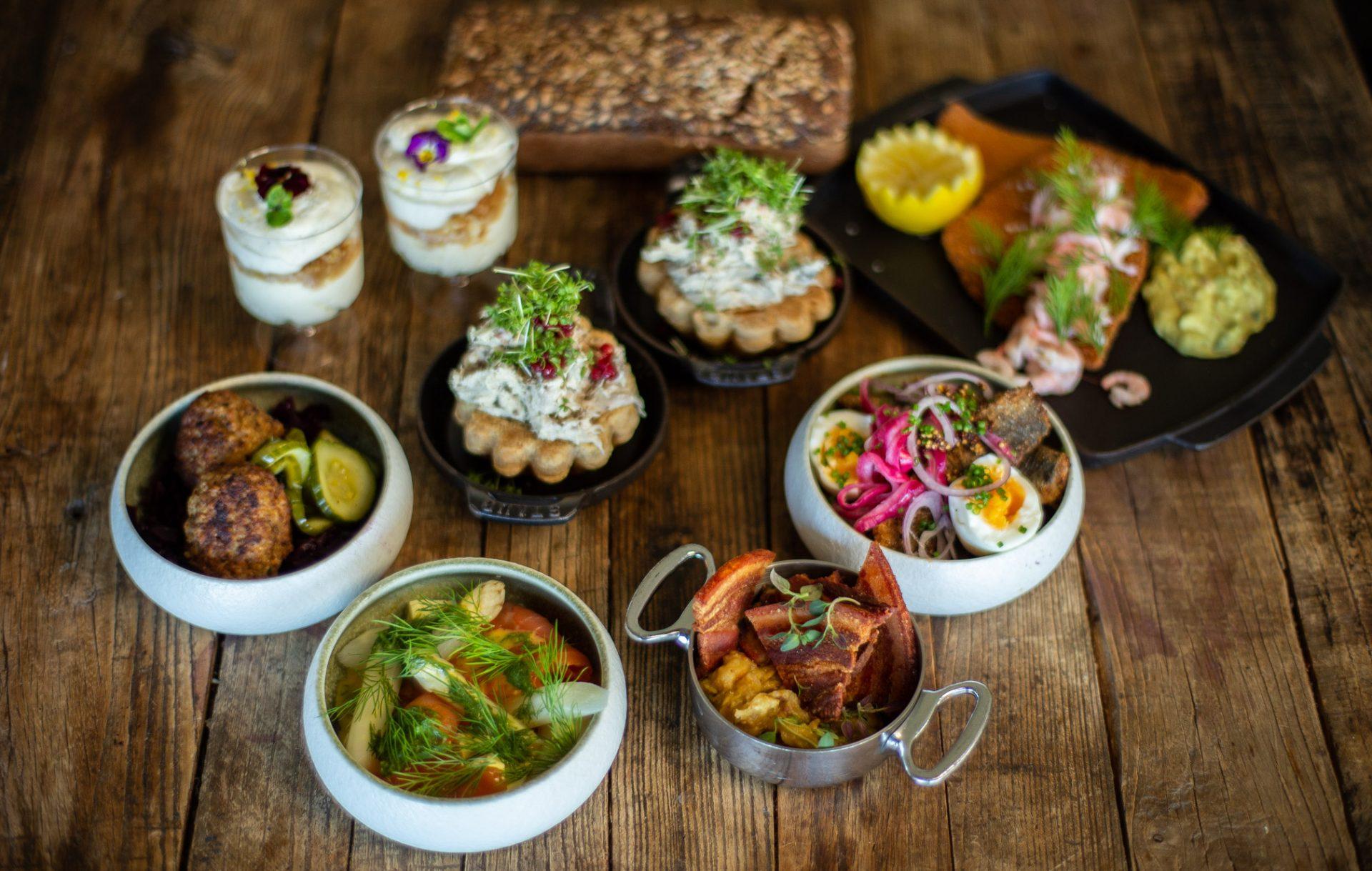 Spis og støt med Unicos frokostplatter: Alle har ret til et godt måltid mad - og en gratis øl