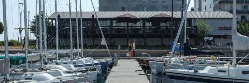 Vankoch på Den gamle lystbådehavn i Aarhus