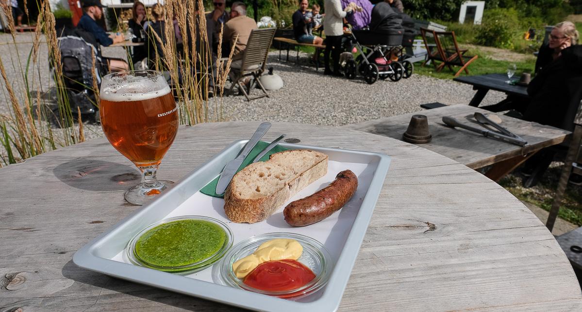 Vanvittig god grillmad hos Ebeltoft Gårdbryggeri_