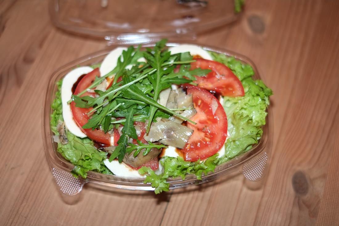 Vegetariana paste fra La Trattoria i Aarhus
