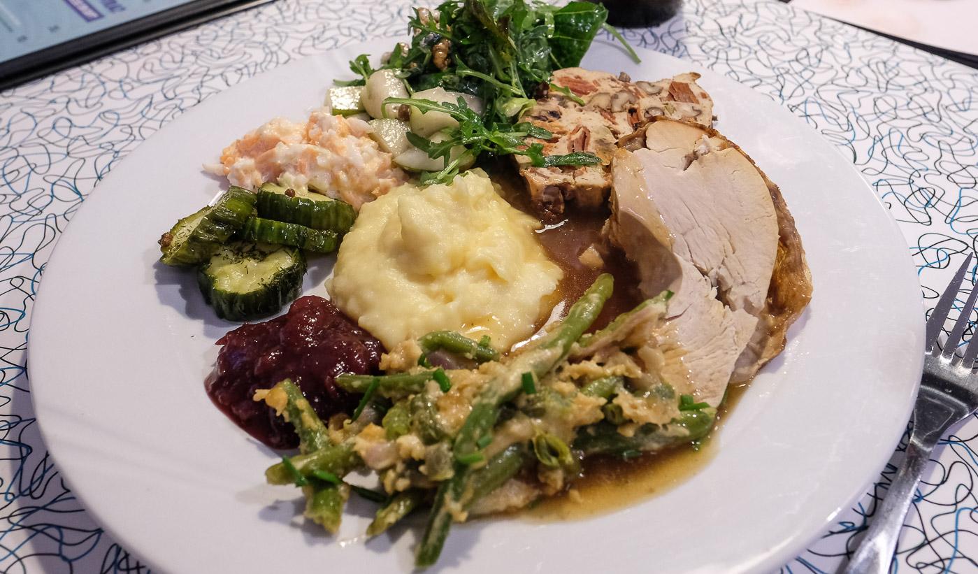 En skøn tradition: Thanksgiving og fuldt hus hos The Diner