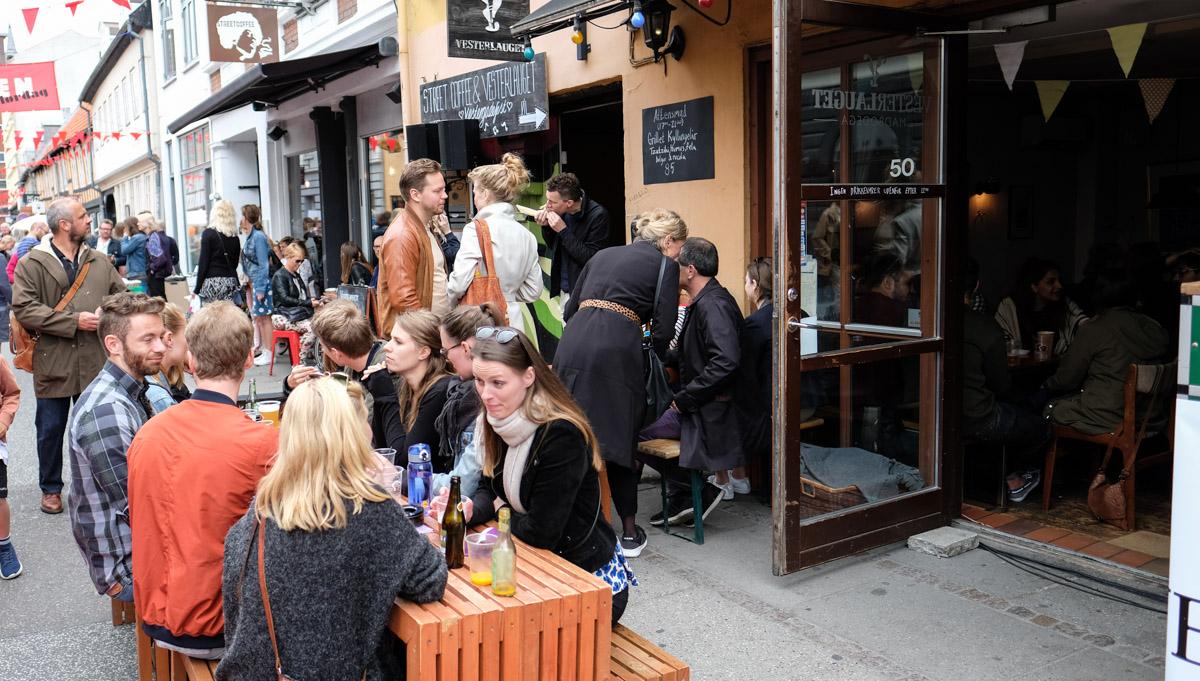 På fodgængernes præmisser: Sommergågader i Latinerkvarteret og Vestergade
