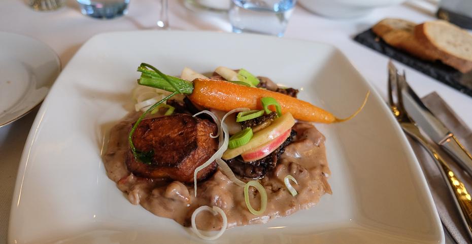 Vildanden på Restaurant Sostrup Slot