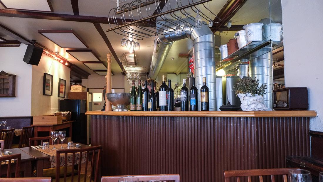 Vin med mere på Den Rustikke i Mejlgade