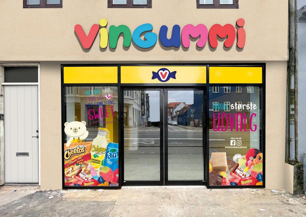 Bland-selv-slik er en kæmpe succes: Vingummi udvider med ny butik
