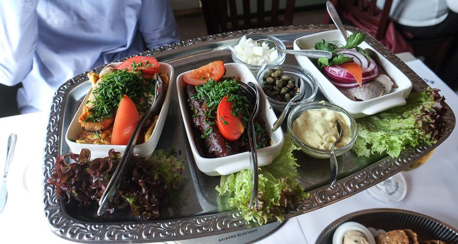 Vores frokostfisk på Restaurant Kohalen i Aarhus