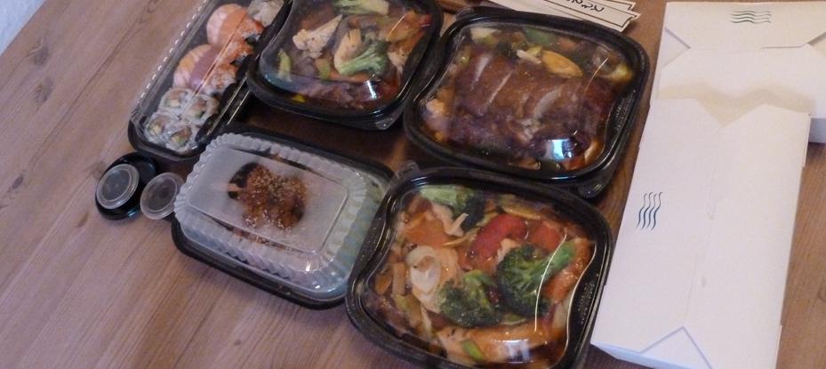 Vores mad fra Kung Fu Express