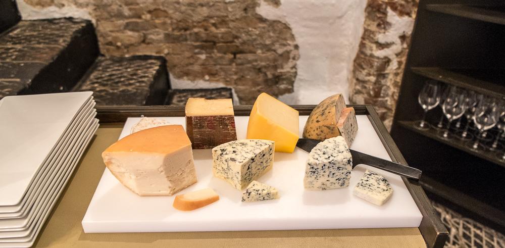 Vores oste den aften på Det Gamle Mejeri