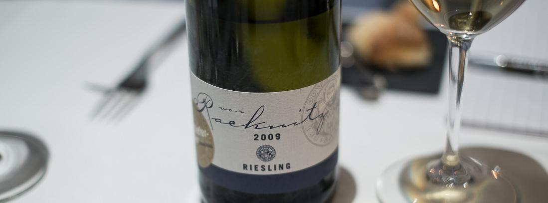 Weingut von Racknitz, Riesling 2009 på Miró