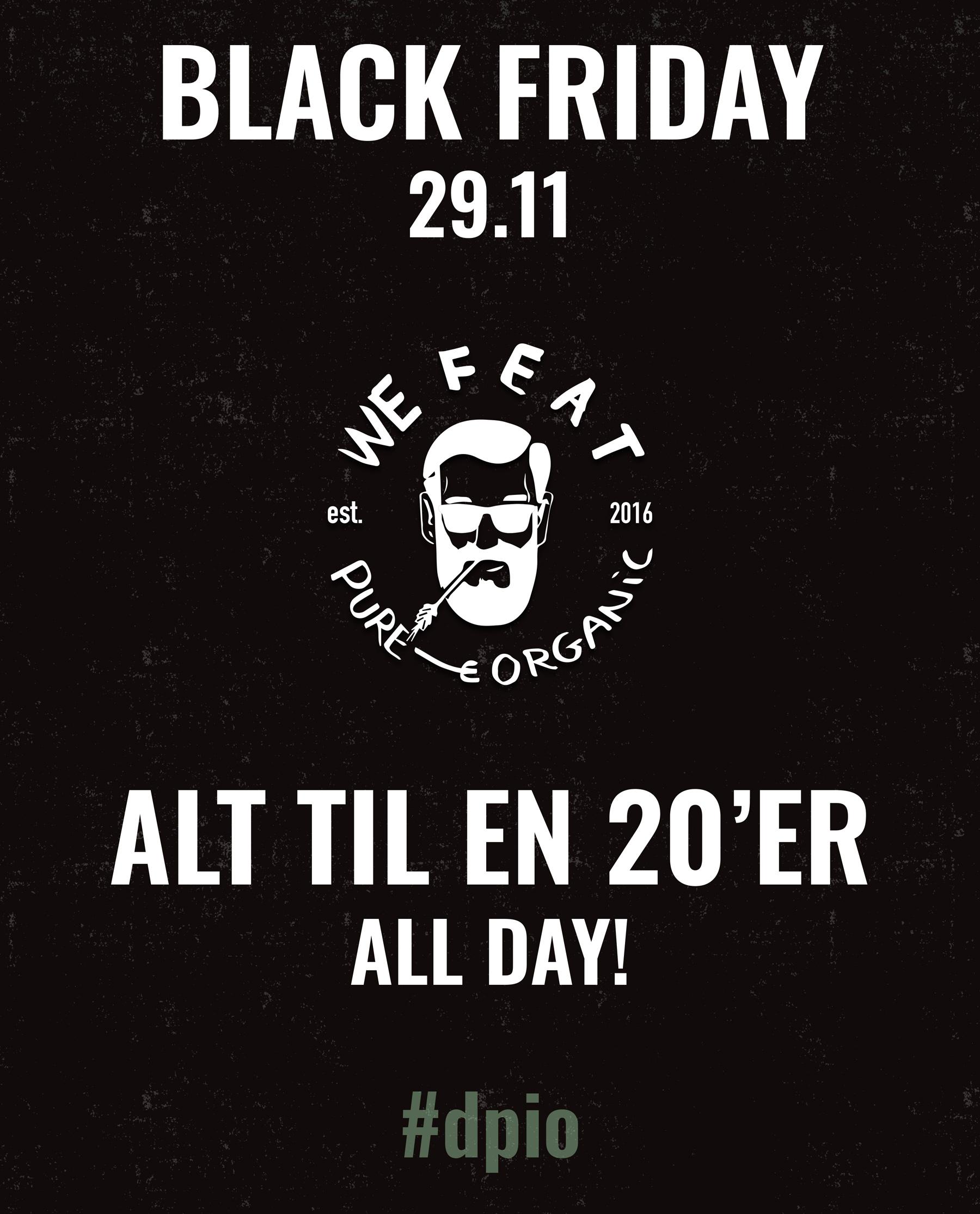 We Feat går i sort på fredag: Alt koster 20 kroner
