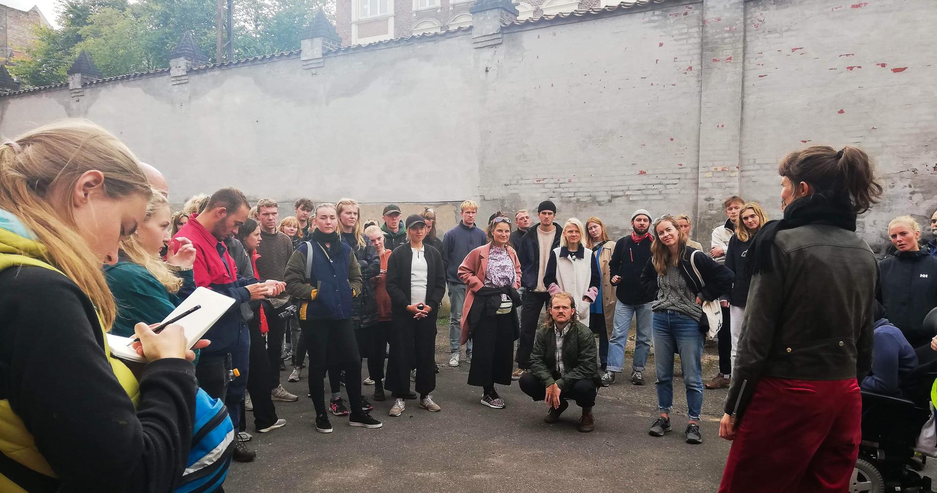 Et område i udvikling: Bylivsvandringrundt i Sydhavnen