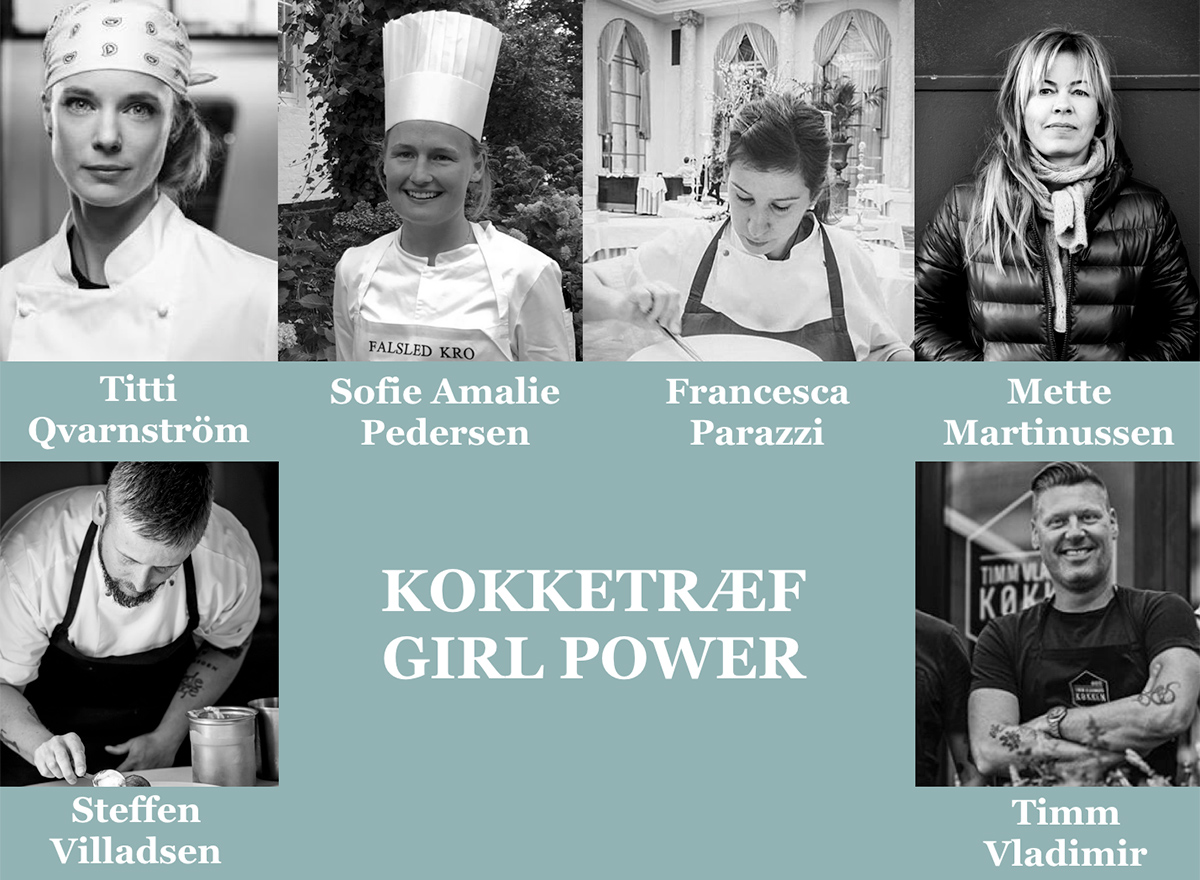 Girlpower: Molskroen hylder de kvindelige topkokke