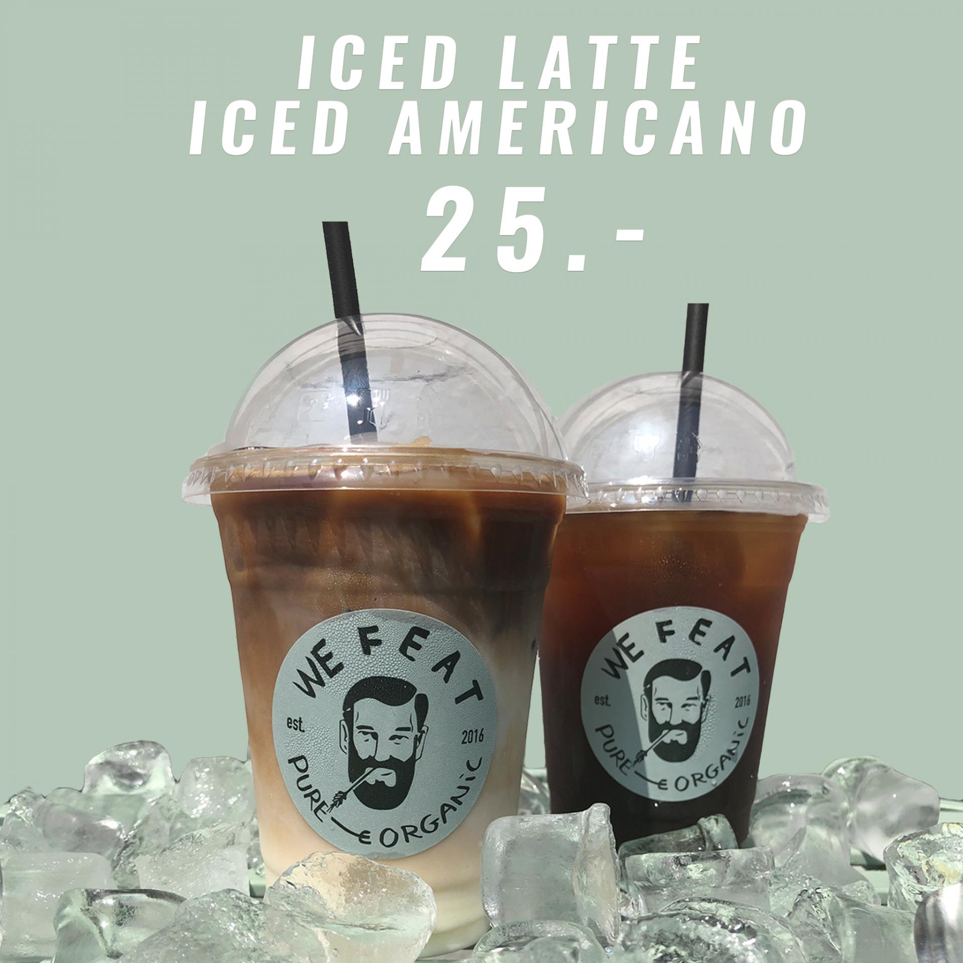 We Feat: Skyder sommeren i gang med Iced latte eller Iced americano til 25 kroner