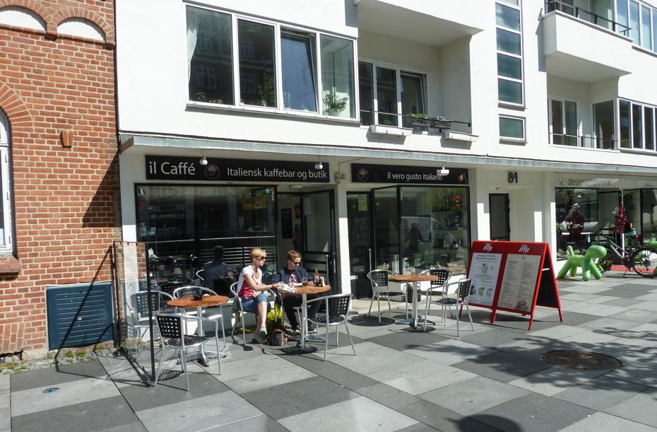 il Caffé ved åen i Aarhus_