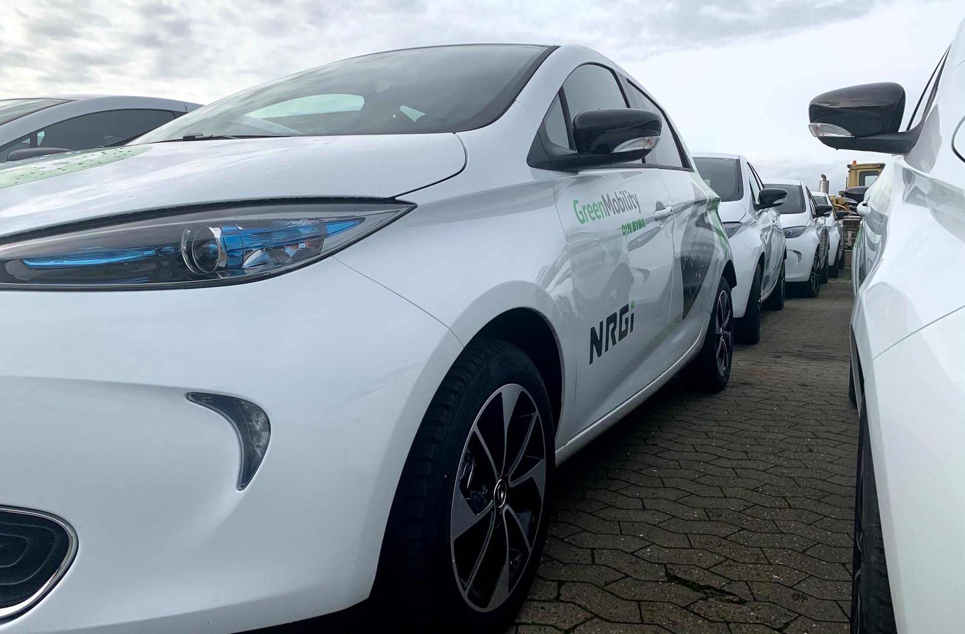 Bybiler: GreenMobility og NRGi giver aarhusianerne 200 el-bybiler