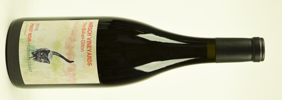 2017 Hirsch Vineyards, Bohan Dillon Pinot Noir, Sonoma, Californien, USA