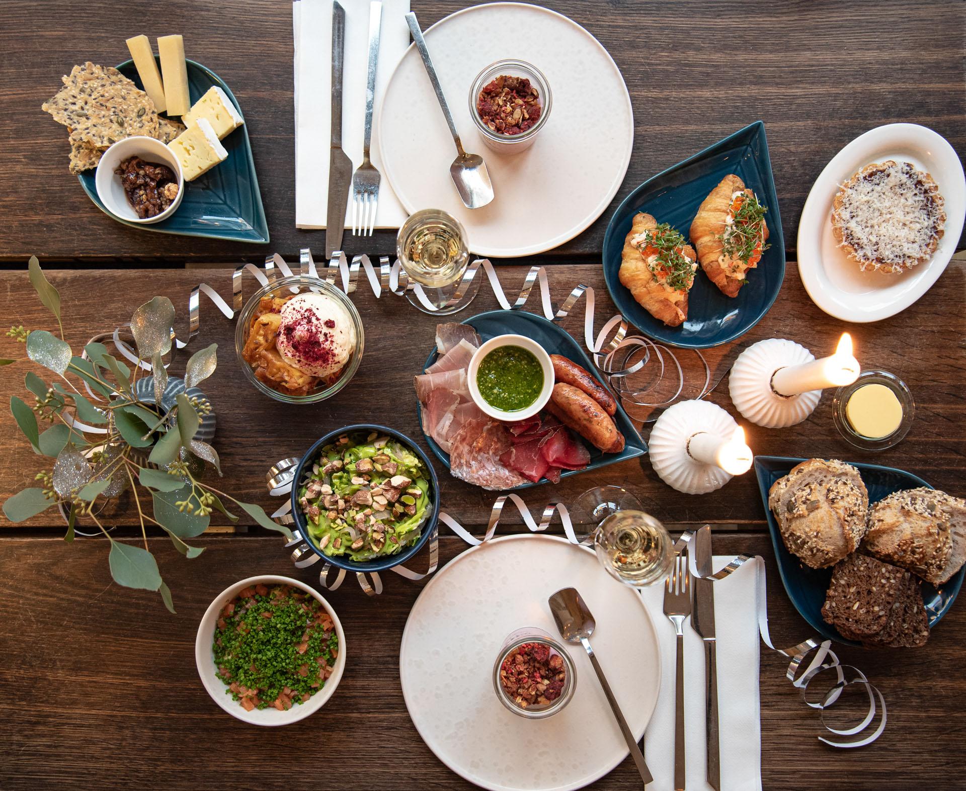 Årets sidste dag: Kom til festlig nytårsbrunch på Spisesalon