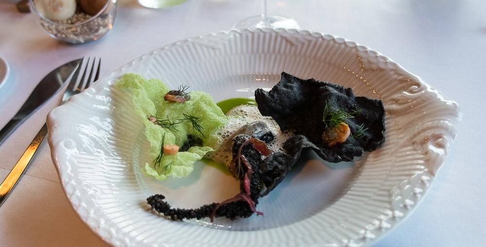 Østers, blæksprutte og tang på Frederikshøj