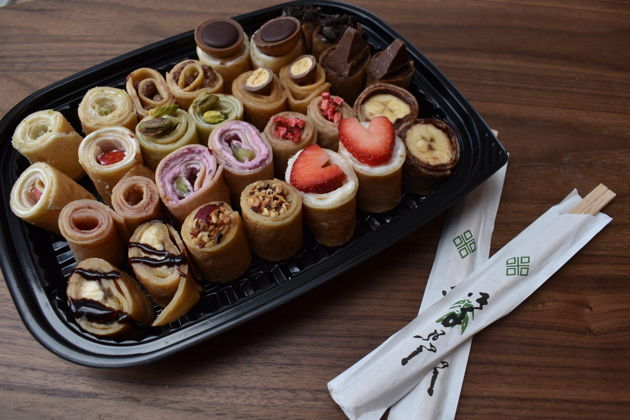 Himmelske stykker: Aarhus-sted laver vilde sushi-crêpes