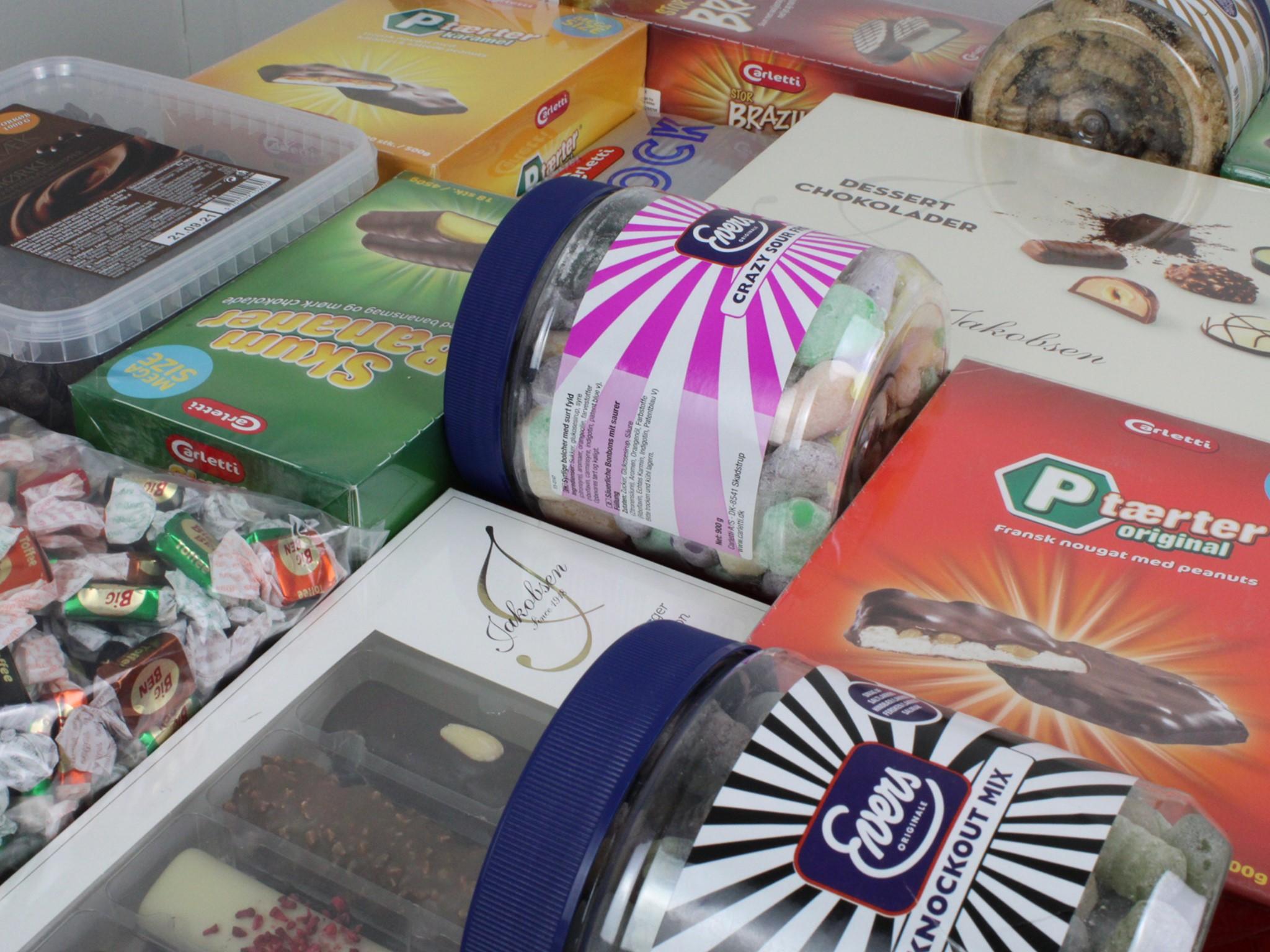 Kæmpe partier af P-tærter og chokolade: Slikfabrik holder Drive In lagersalg