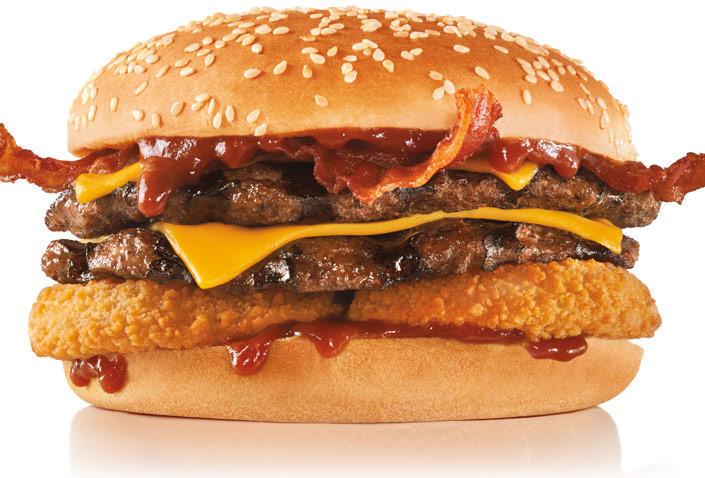 Ekstra ost, to bøffer og godt med sovs: Her får du de største og mest snaskede burgere i byen