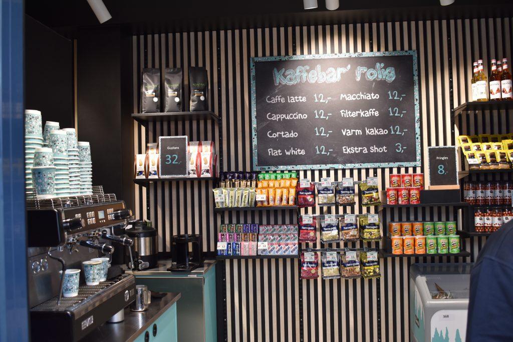 Normal udvider med kaffebar: Samme gode priser som du kender fra butikken