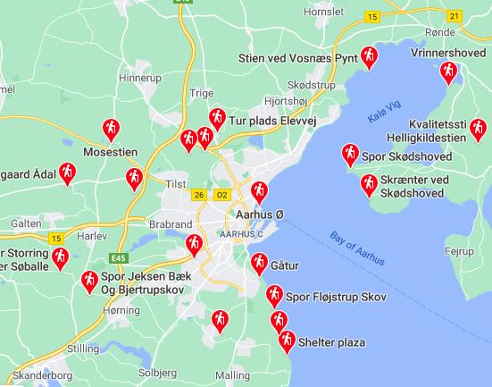 Bliv inspireret: Oversigt over Aarhus' flotteste vandreruter