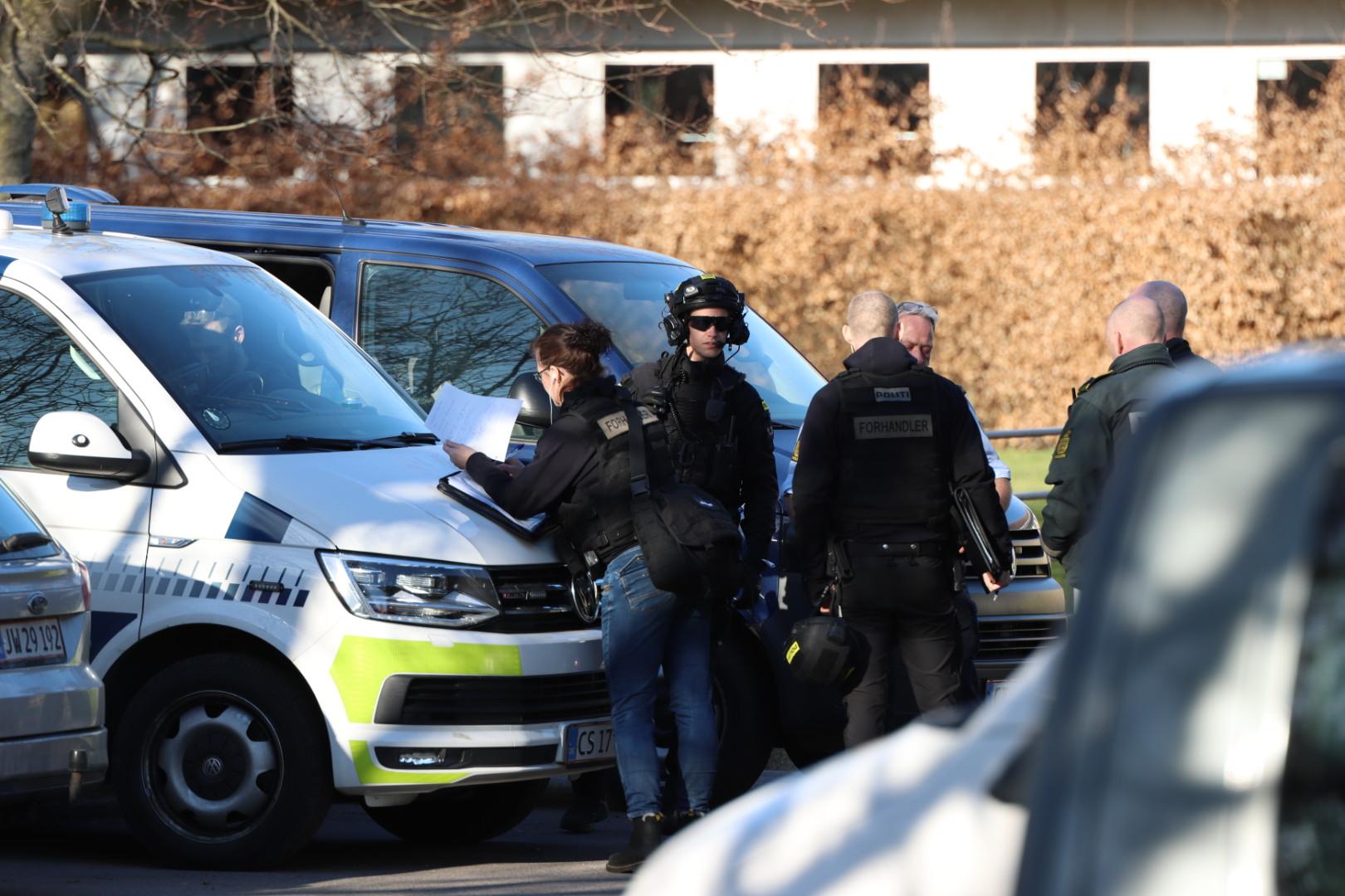 En person anholdt: Stor politiaktion i Aarhus er afsluttet