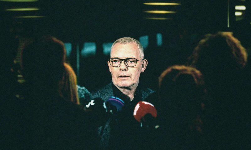 Her fra tv-serien Efterforskningen, hvor drabschefen spilles af Søren Malling  Pressefoto: TV 2