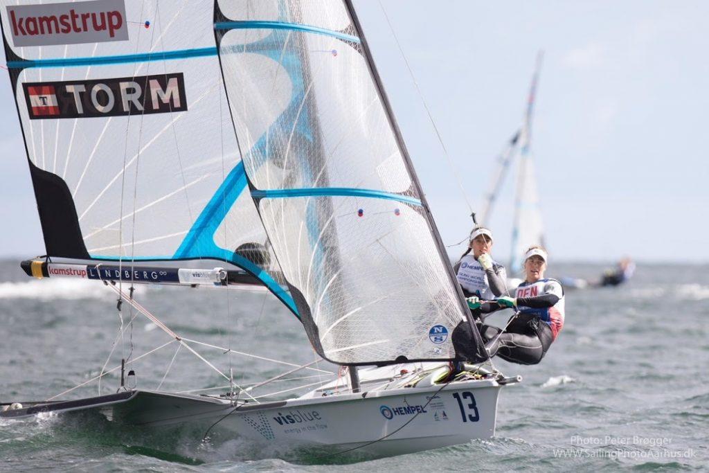 Aarhus som værtsby: EM i tre olympiske sejlsportsklasser