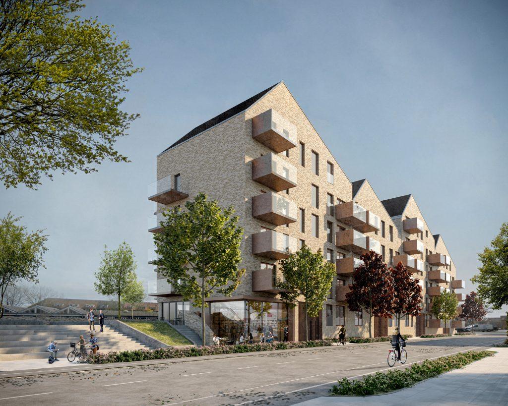 Byggeri på vej: 95 nye boliger på Katrinebjerg