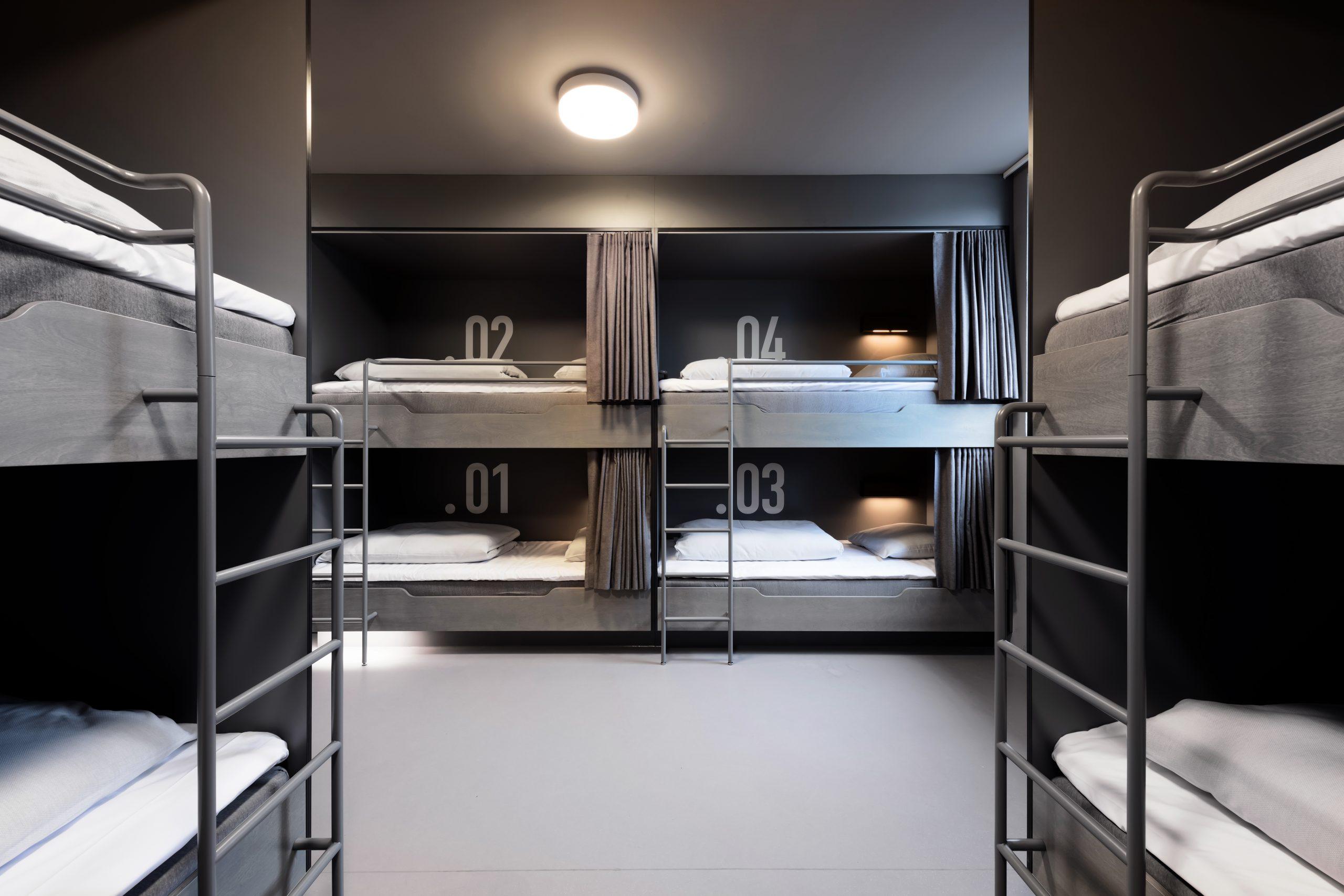 Hybrid mellem hostel og hotel: Nyskabende design hostel er åbnet i Aarhus