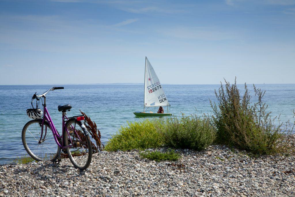 Nu sejler Samsøs nye hurtigfærge: Kom på cykelferie og Michelin-besøg