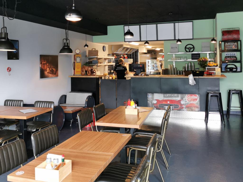 Nye burgere i byen: Garage Burgerbar er åbnet i Aarhus