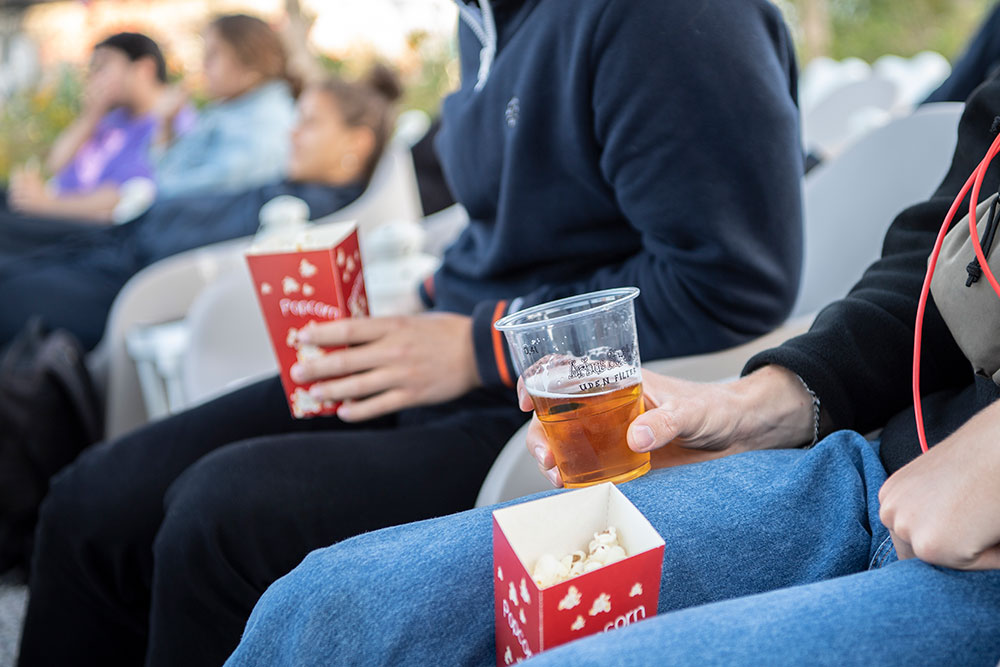 Film under åben himmel: Aarhus Street Food klar med sommerbio