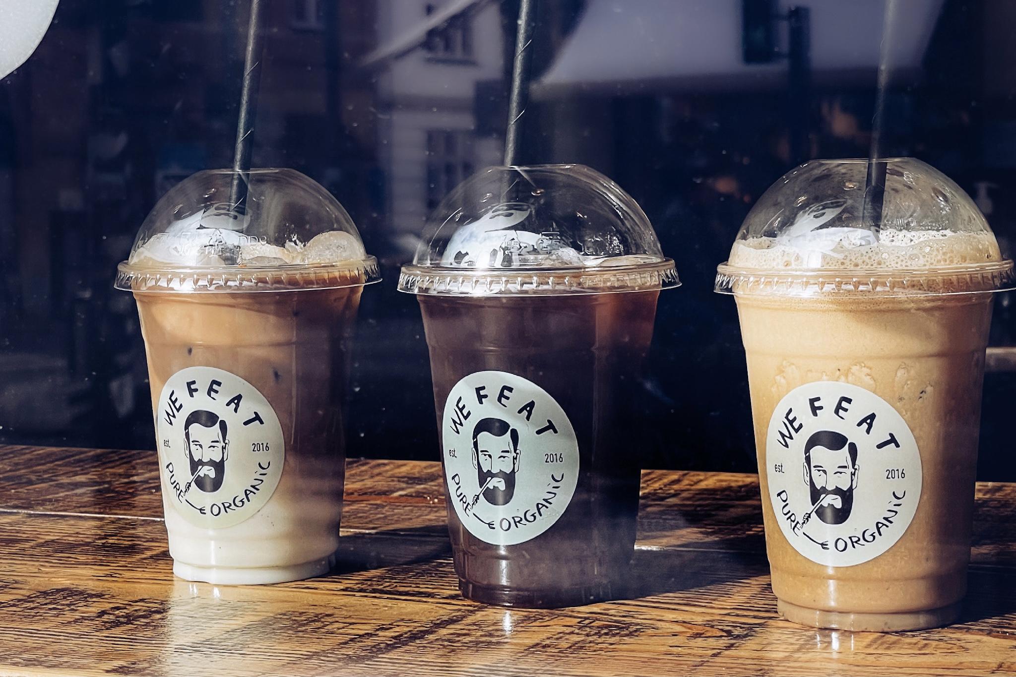 Køligt sommertilbud: Iskold kaffe til 25 kroner hos We Feat