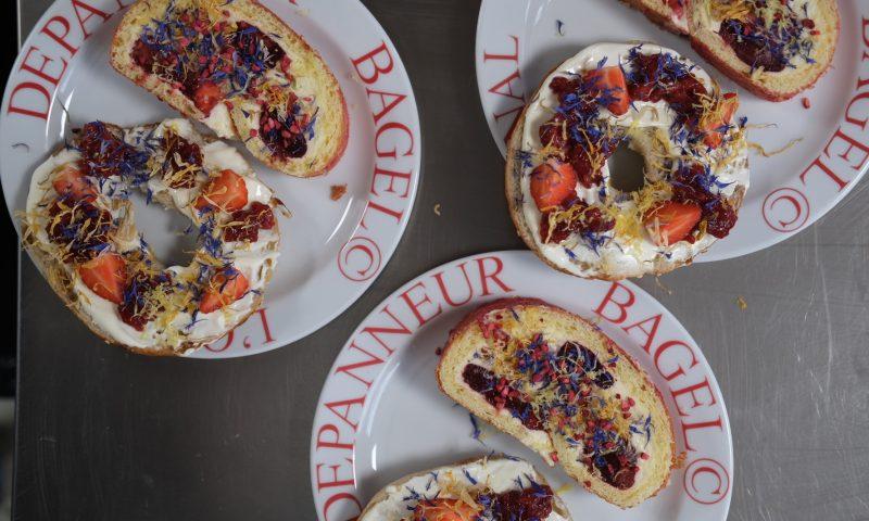 Depanneur har også en dessertbagel og roulade på menuen - haps!  Foto: Niels Bjerre