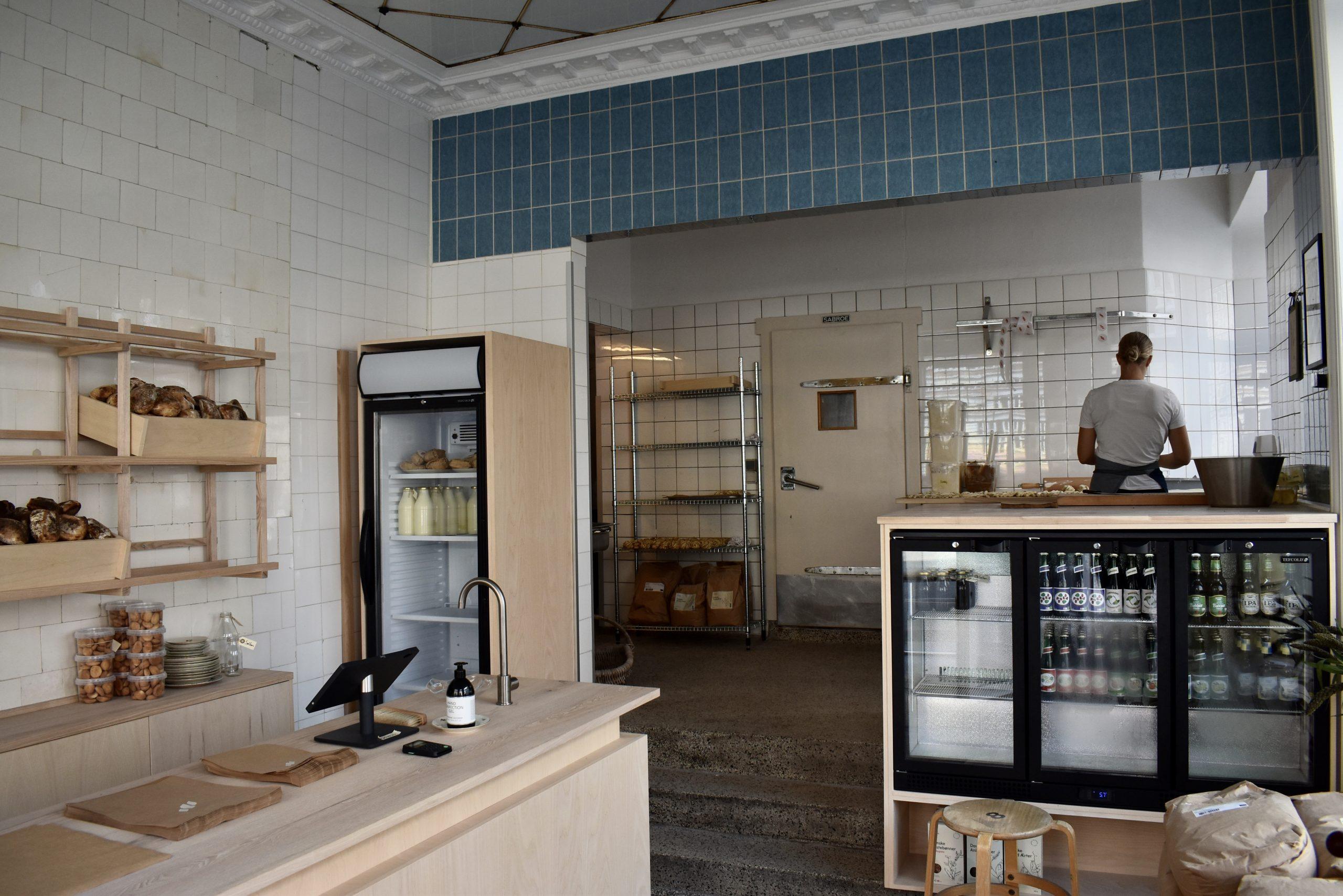 Eminent bagværk: Frederiksbjergs nye surdejsbageri er godt i gang