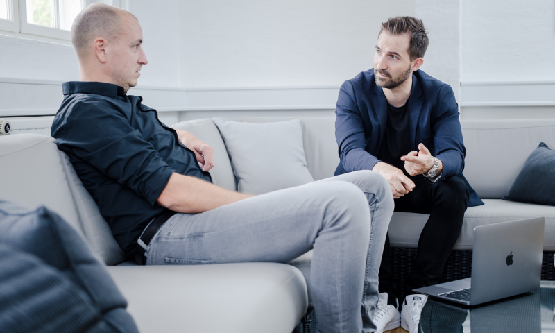 Jesper Langhoff tv. er partner i F10, Aarhus