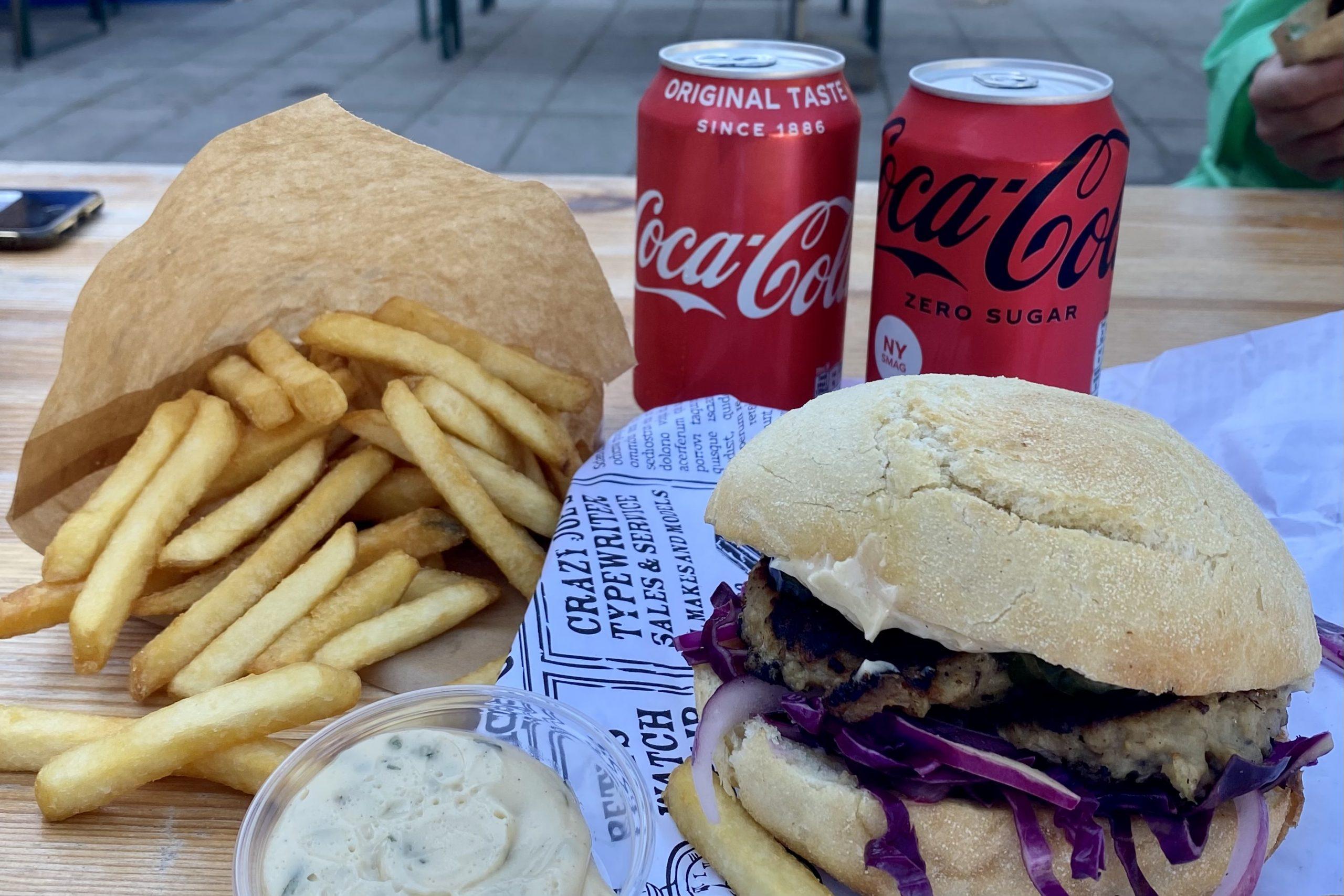 Ridehuset omdannet til Street Food-marked: Det kan du få at spise