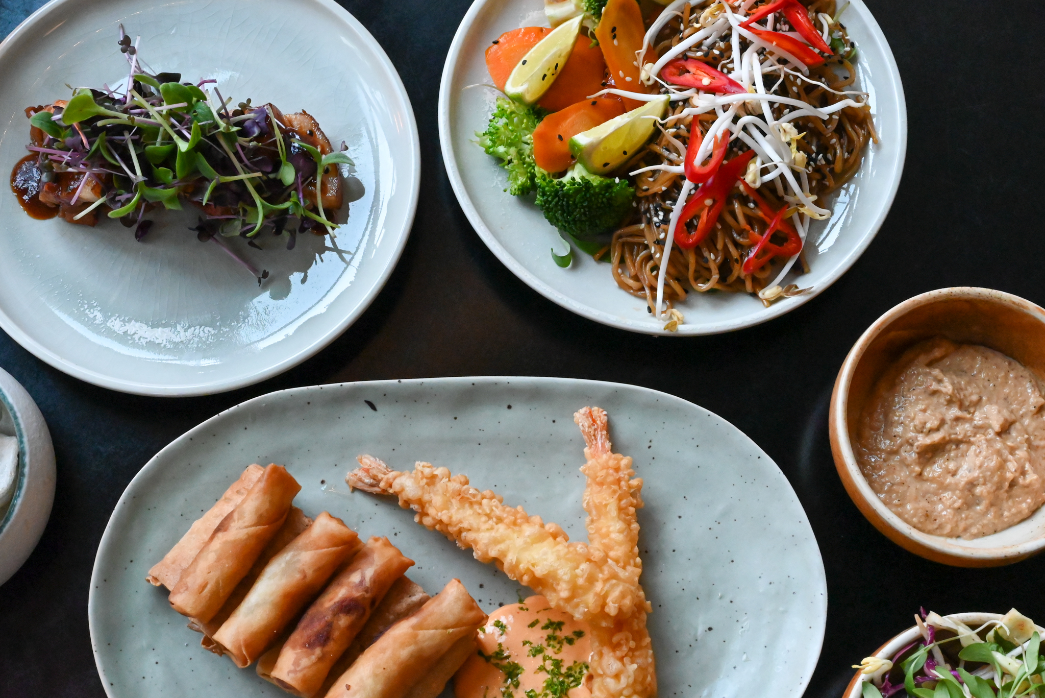 asiatisk street food spiselauget