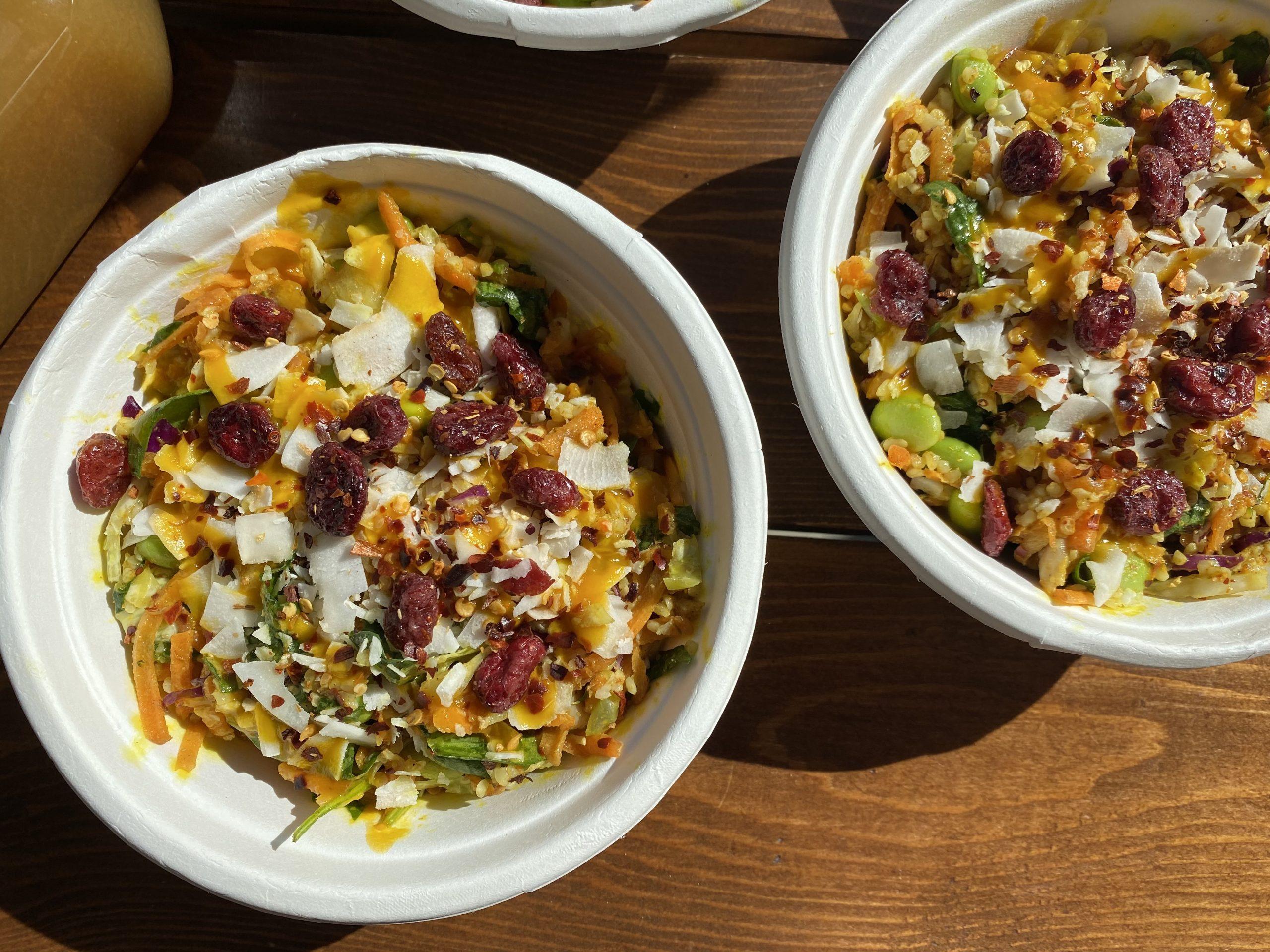 Eksotiske nyheder hos We Feat: Sprød, krydret bowl og frisk ice tea