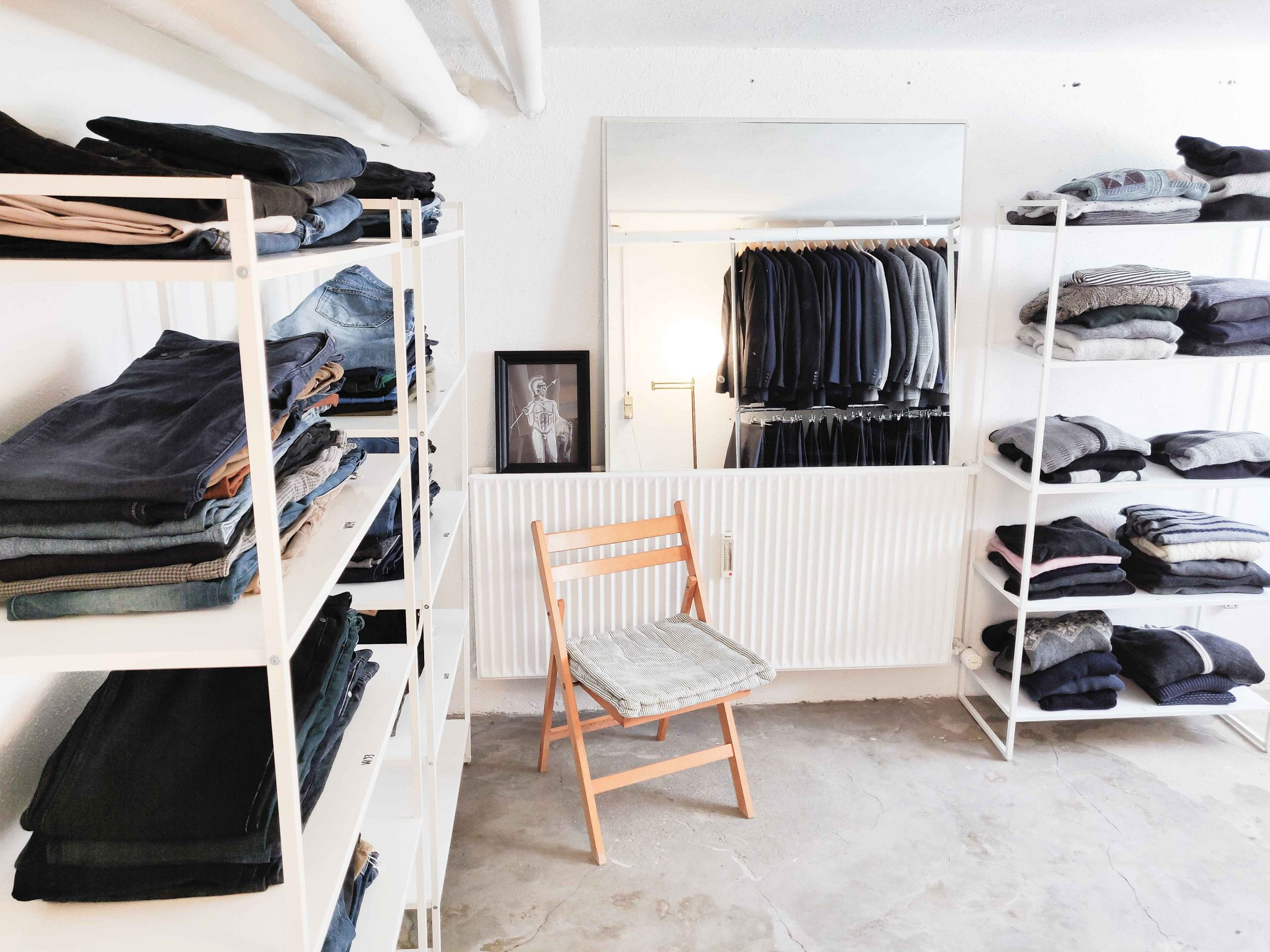 Mildt genbrugsshop: Har åbnet fysisk butik med genbrugstøj til mænd
