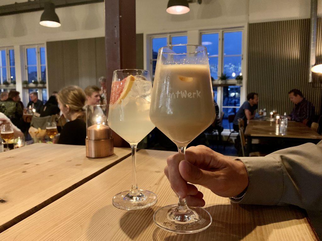 'Ø-hop' ved havnefronten: Besøg vinbar, restaurant og bryggeri på samme aften